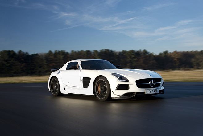 14. Mercedes-Benz SLS Black Series