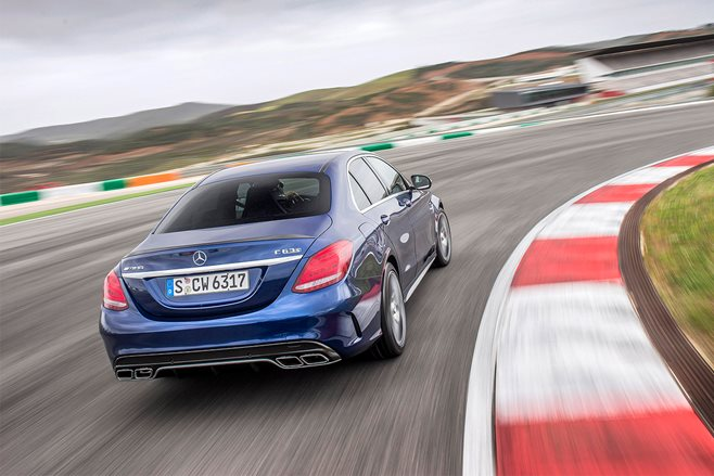 Mercedes-AMG C63 S review test drive