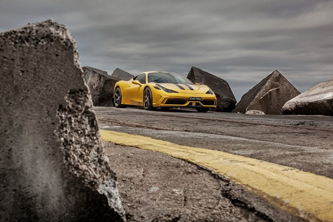 Ferrari 458 Speciale review test drive
