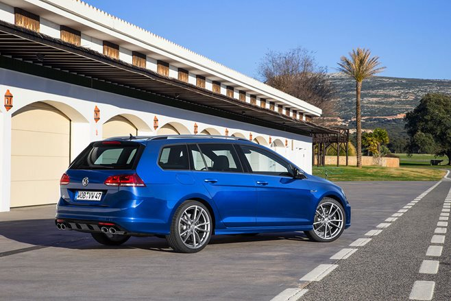 VW Golf R Wagon