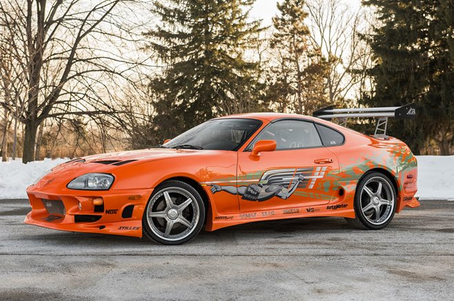 Fast and the Furious Supra
