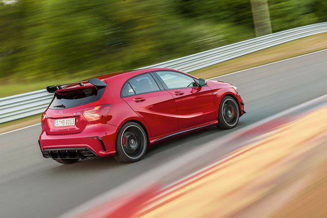 New Mercedes-AMG A45 revealed