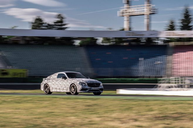 Mercedes-AMG releases C63 coupe teaser images