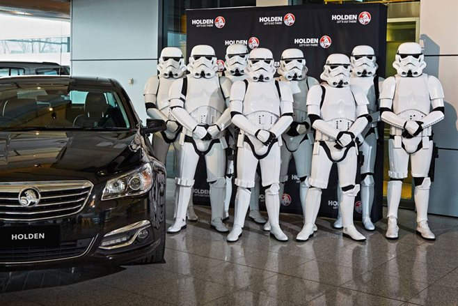 Holden and Star Wars team up