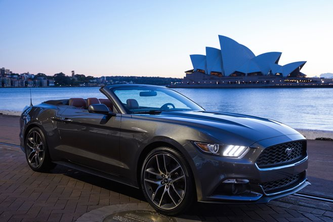 Aussie V8 Mustang demand strong