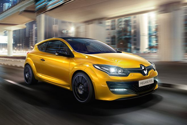 Renault powers-up Megane RS