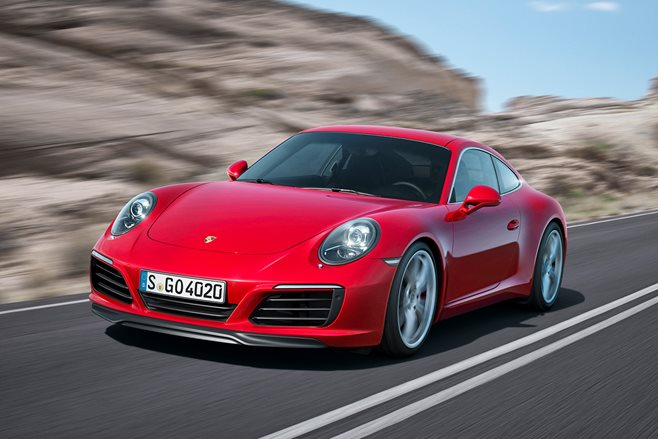 New Porsche 911 Carrera revealed