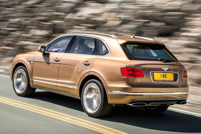 Bentley Bentayga revealed