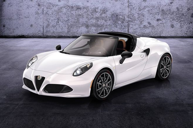 Alfa Romeo 4C Spider priced from $99,000
