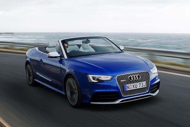 Audi RS5 Cabrio review