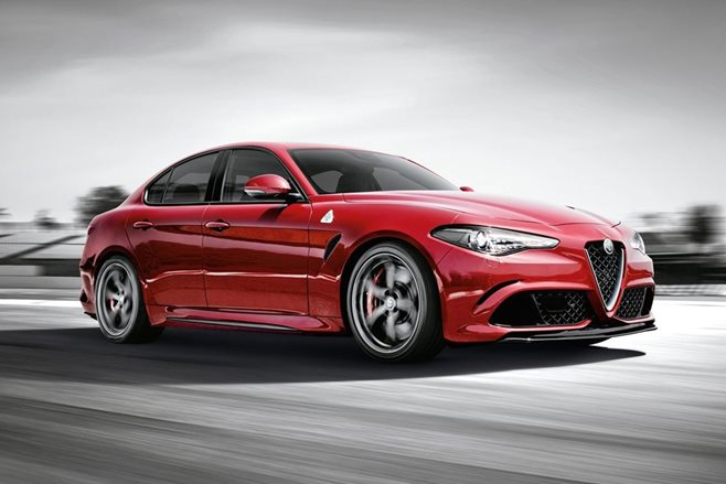 Alfa Romeo Giulia smashes sedan Nurburgring record