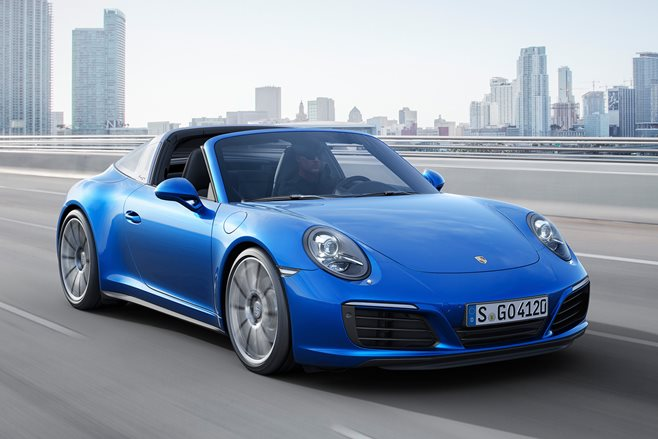 Porsche 911 Carrera 4 and Targa follow turbo charge