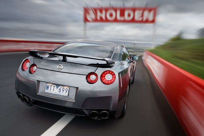 Nissan GT-R at Bathurst