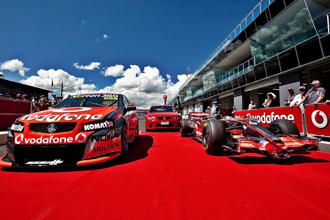 Bathurst Shootout: Holden SS vs V8 SC vs F1 car