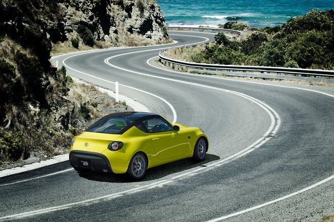 Toyota S-FR previews smaller, lighter 86 coupe