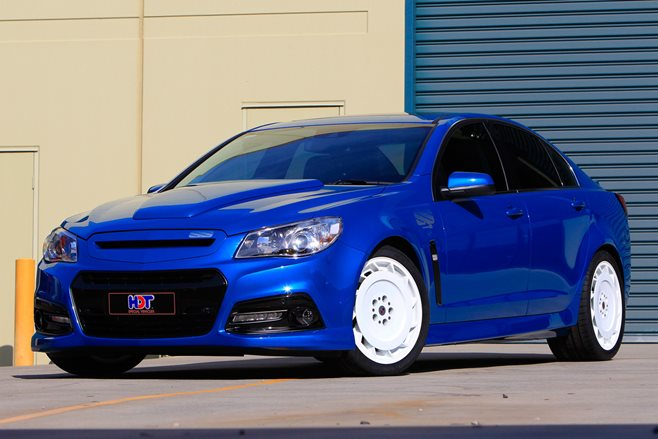 VF Commodore gets Blue Meanie treatment