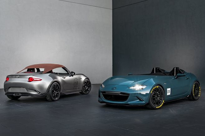 SEMA: Mazda MX-5 Speedster and Spyder concepts revealed