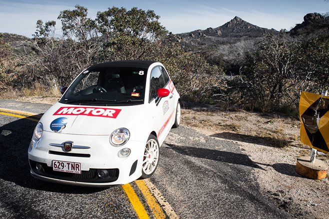 Abarth Rally: The thinking man's rally