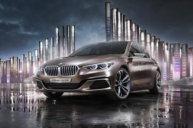 BMW Compact Sedan Concept to hunt S3 and CLA45