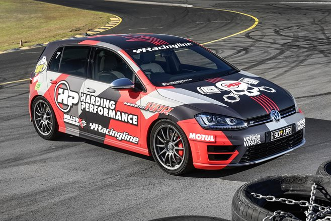 Hot Tuner 2015: Harding Volkswagen Golf R