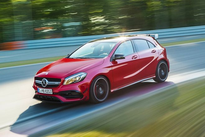 Mercedes-AMG A45 becomes faster, more expensive