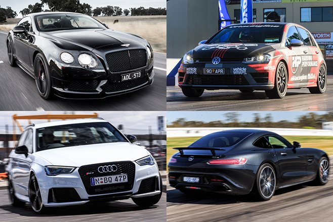 10 Fastest Cars of 2015