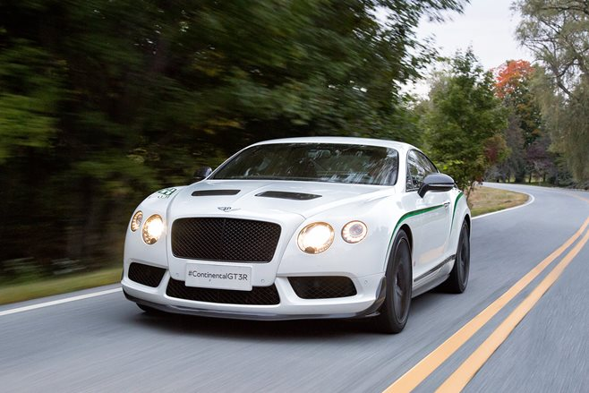 Bentley Continental GT3-R review