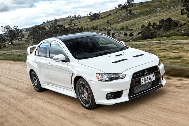 Mitsubishi Evo Final Edition