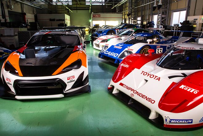 Inside TRD's Secret Warehouse