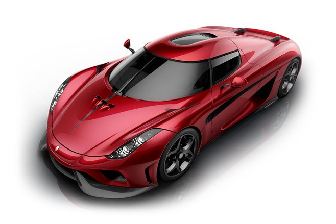 Koenigsegg Regera revealed