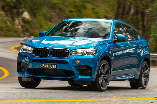 BMW X6M review