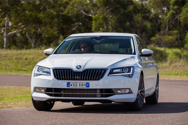 Skoda Superb Wagon faster than Porsche Macan SUV