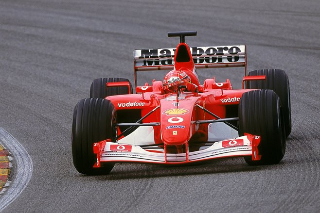 Top 9 dominating F1 cars