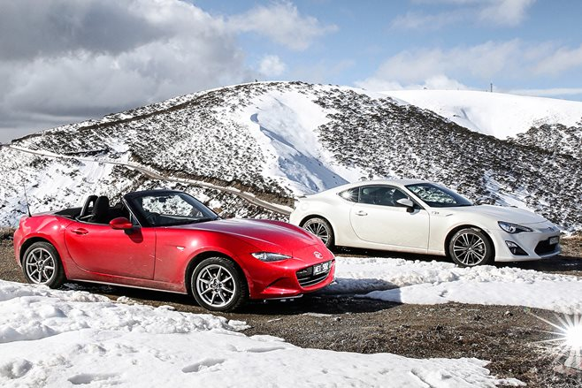 Mazda MX-5 vs Toyota 86 GTS