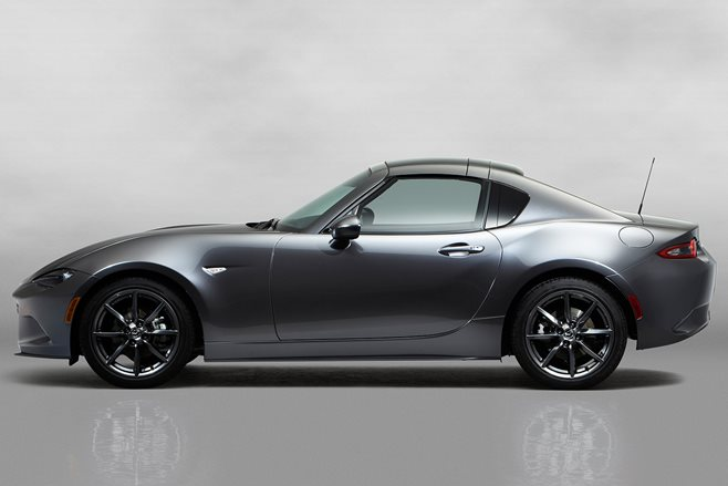 New York Motor Show: Mazda MX-5 RF revealed