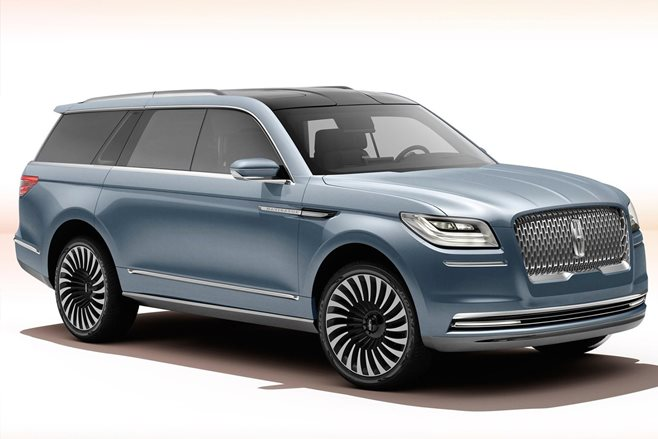 Lincoln Navigator Concept unveiled
