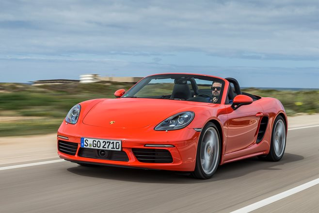 Porsche 718 Boxster S review