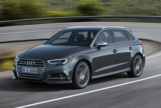 2017 Audi S3 facelift revealed
