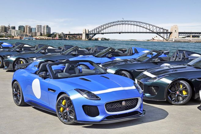 Jaguar F-Type Project 7 arrives
