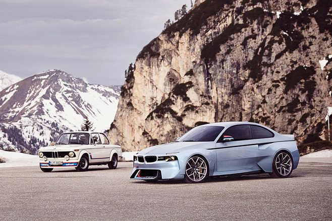 BMW 2002 Hommage revealed