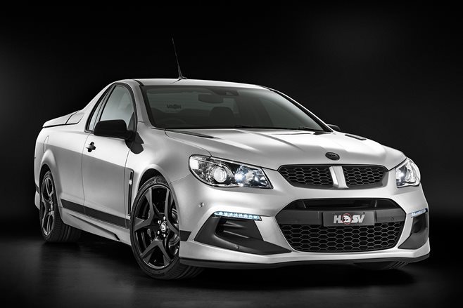 HSV Clubsport R8 SV Black revealed