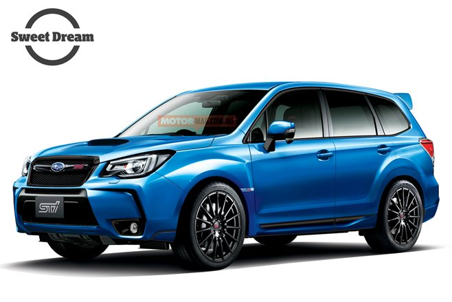 Subaru Forester STI: Sweet Dream