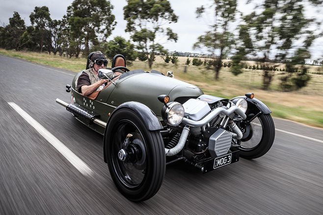 Morgan's mighty 3-Wheeler
