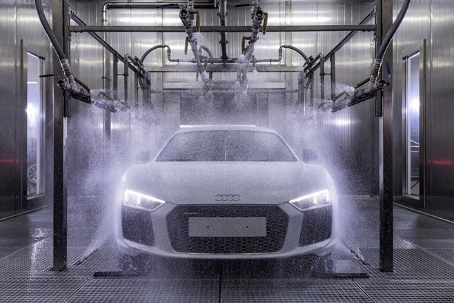 How to build an Audi R8