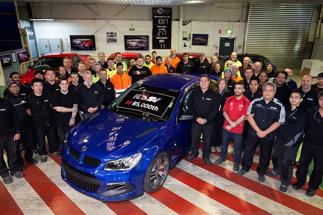 HSV builds 85,000th vehicle