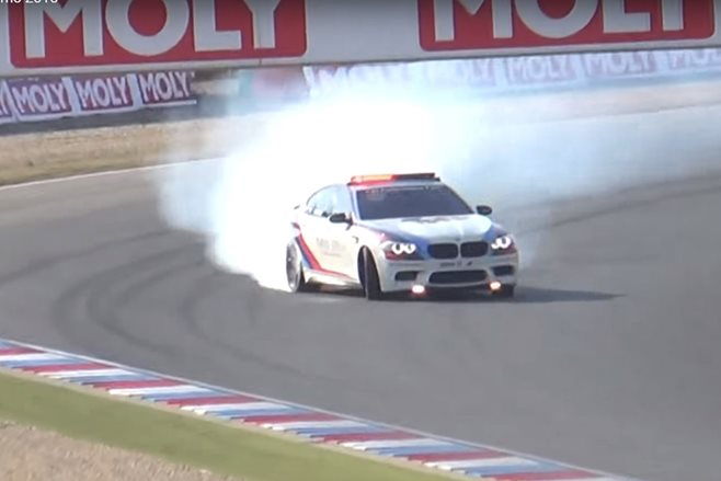 Top five safety car drifts