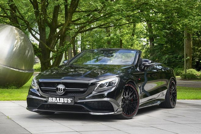 Brabus builds monster S63 AMG Cabriolet