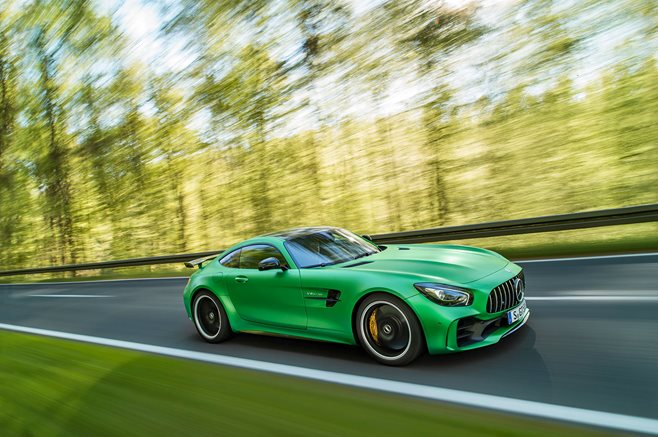 Mercedes-AMG GT R revealed