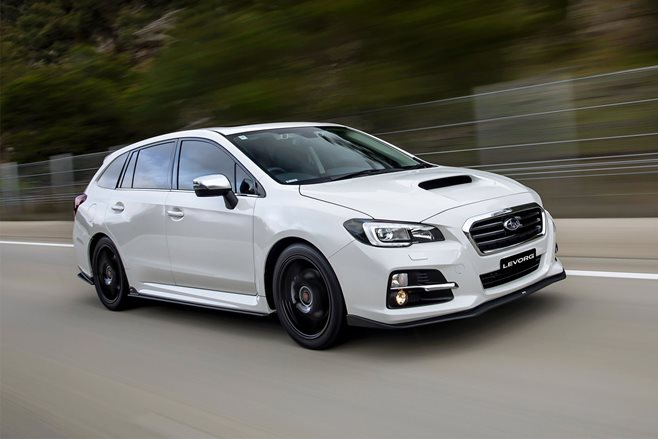 2017 Subaru Levorg GT-S B-spec review