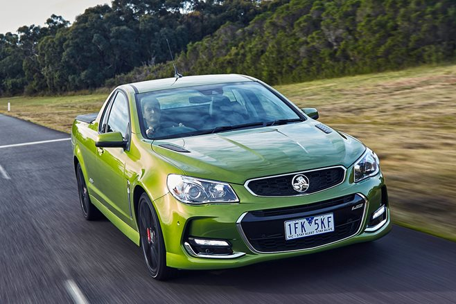 2016 Holden Commodore SS ute review